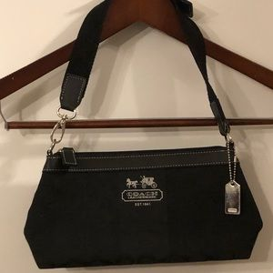 👛 Coach small black purse 👛